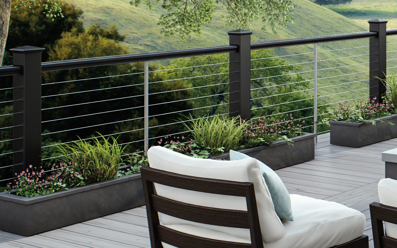Goat Wire Deck Railing