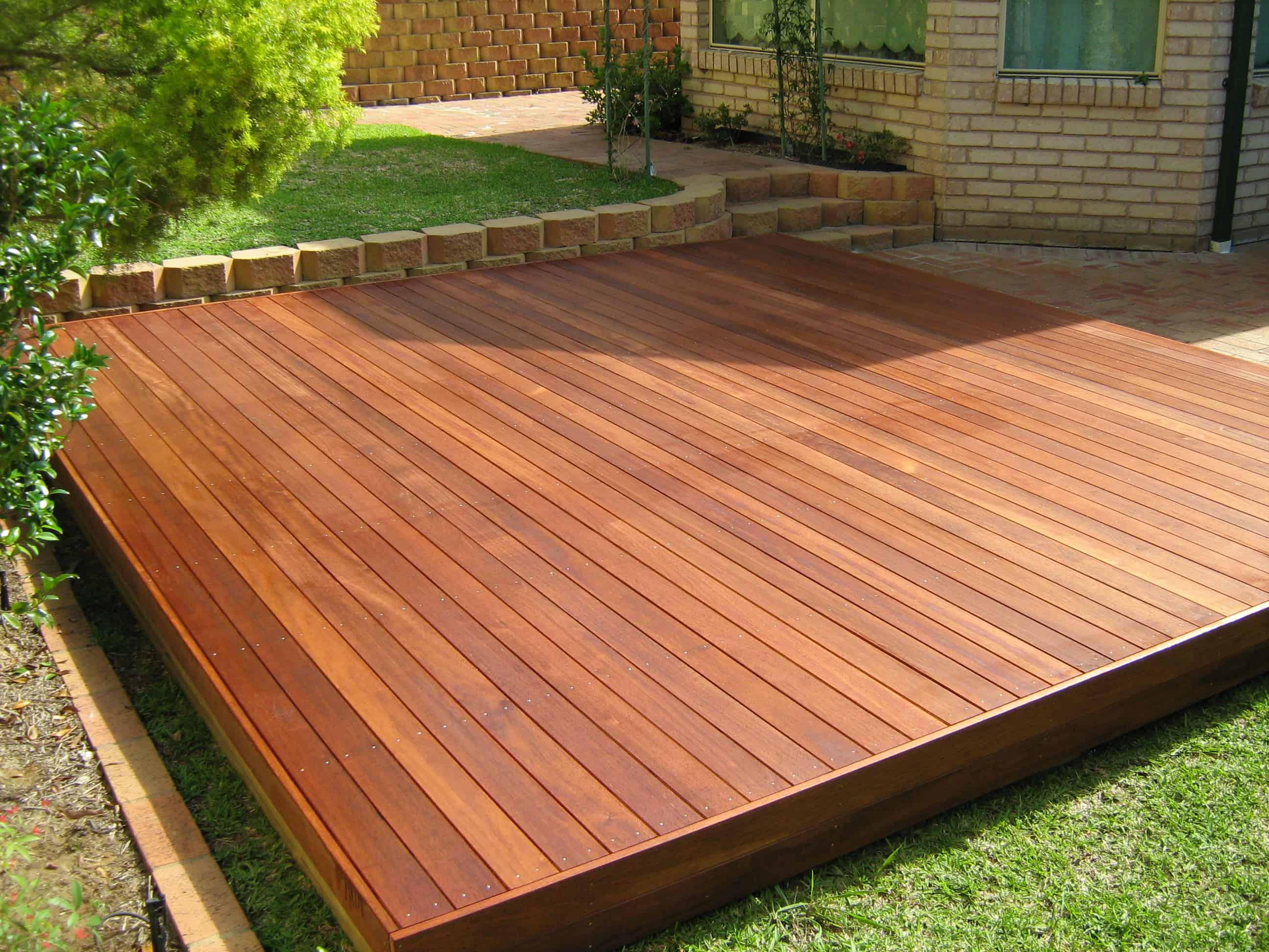 Backyard Style: Floating Decks - Decks & Docks Lumber Co. on Floating Patio Ideas id=60164