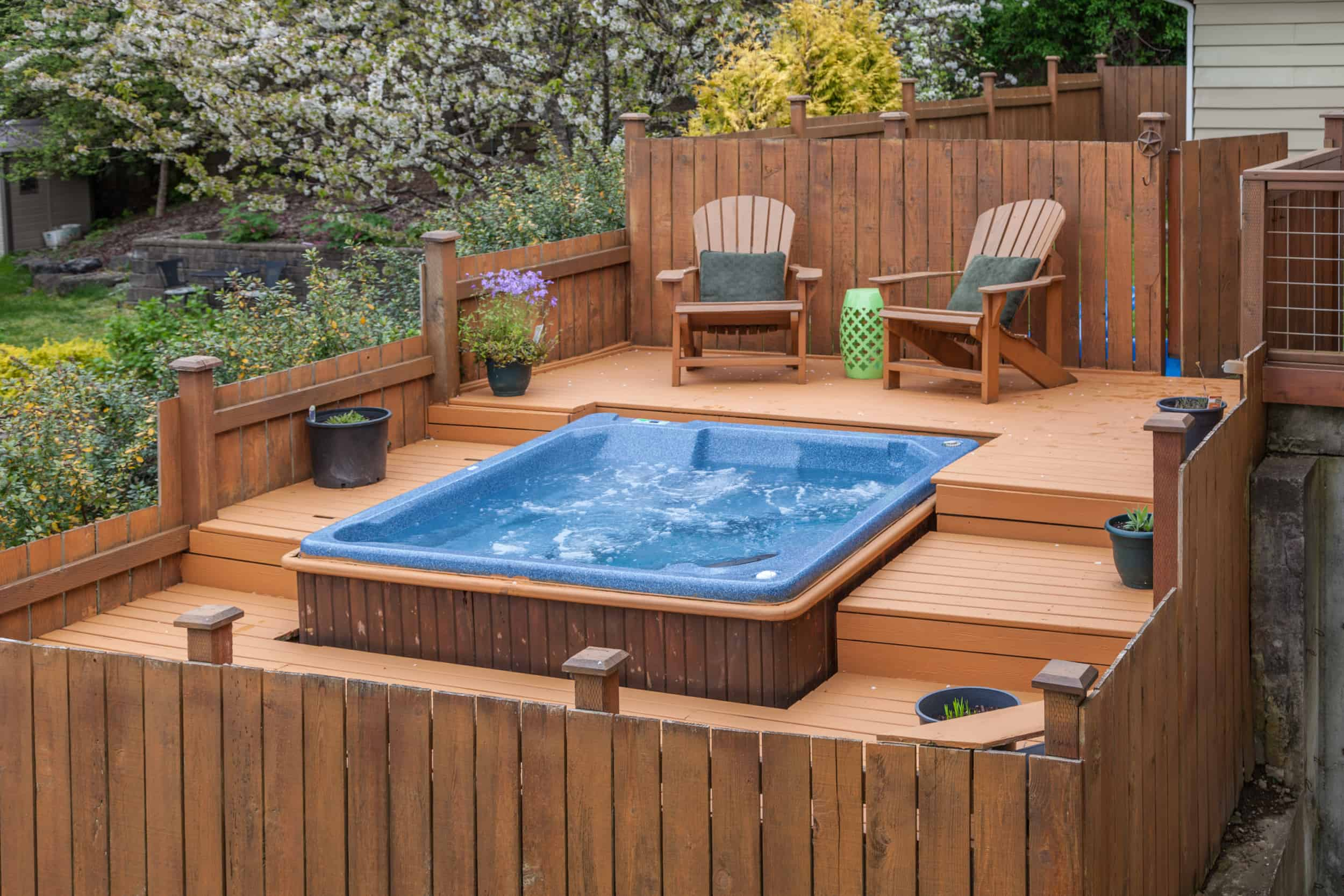 Can I Add a Hot Tub to My Deck? - Decks & Docks Lumber Co. on Deck And Hot Tub Ideas  id=52028