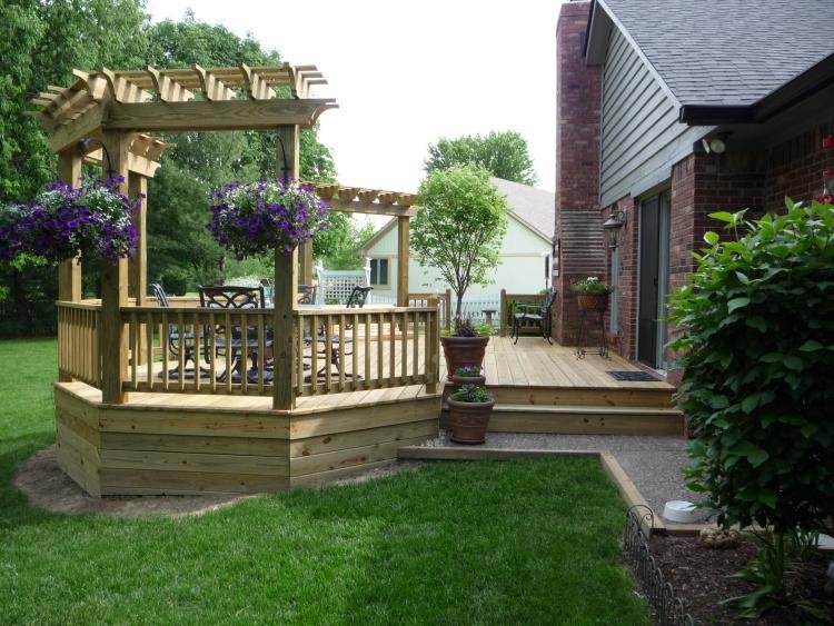 Decks By Design - Custom Built Wood Decks, Cedar Decks or ... on Wood Deck Ideas For Backyard  id=55850