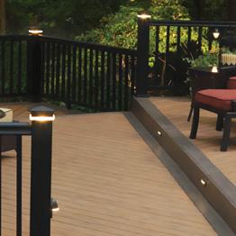 timbertech deck lighting timbertech
