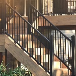 Metal Stair Railing Outdoor Porch Railing Decksdirect | Metal Handrails For Outdoor Steps | Hand | Front Porch Stair Railing | Outside | Patio | Gas Pipe