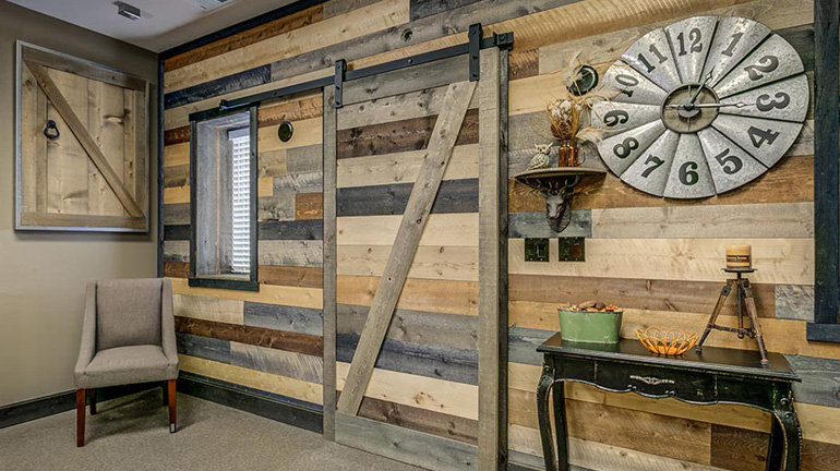 Accent Barn Wood Wall Kits Decksdirect