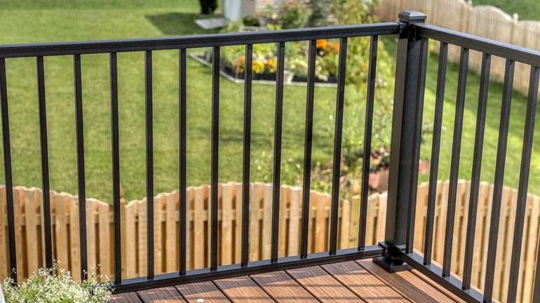 Metal Deck Railing And Metal Porch Railing Systems Aluminum | Black Iron Pipe Handrail | Custom Iron | Galvanized Pipe | Stairway | Aluminum Pipe | Water Pipe