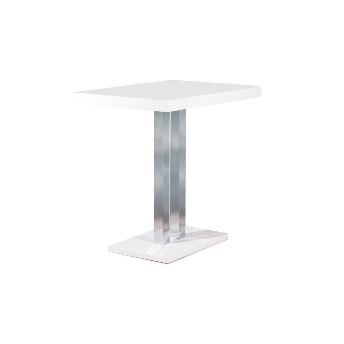 table haute 120x80 cm naturel castle