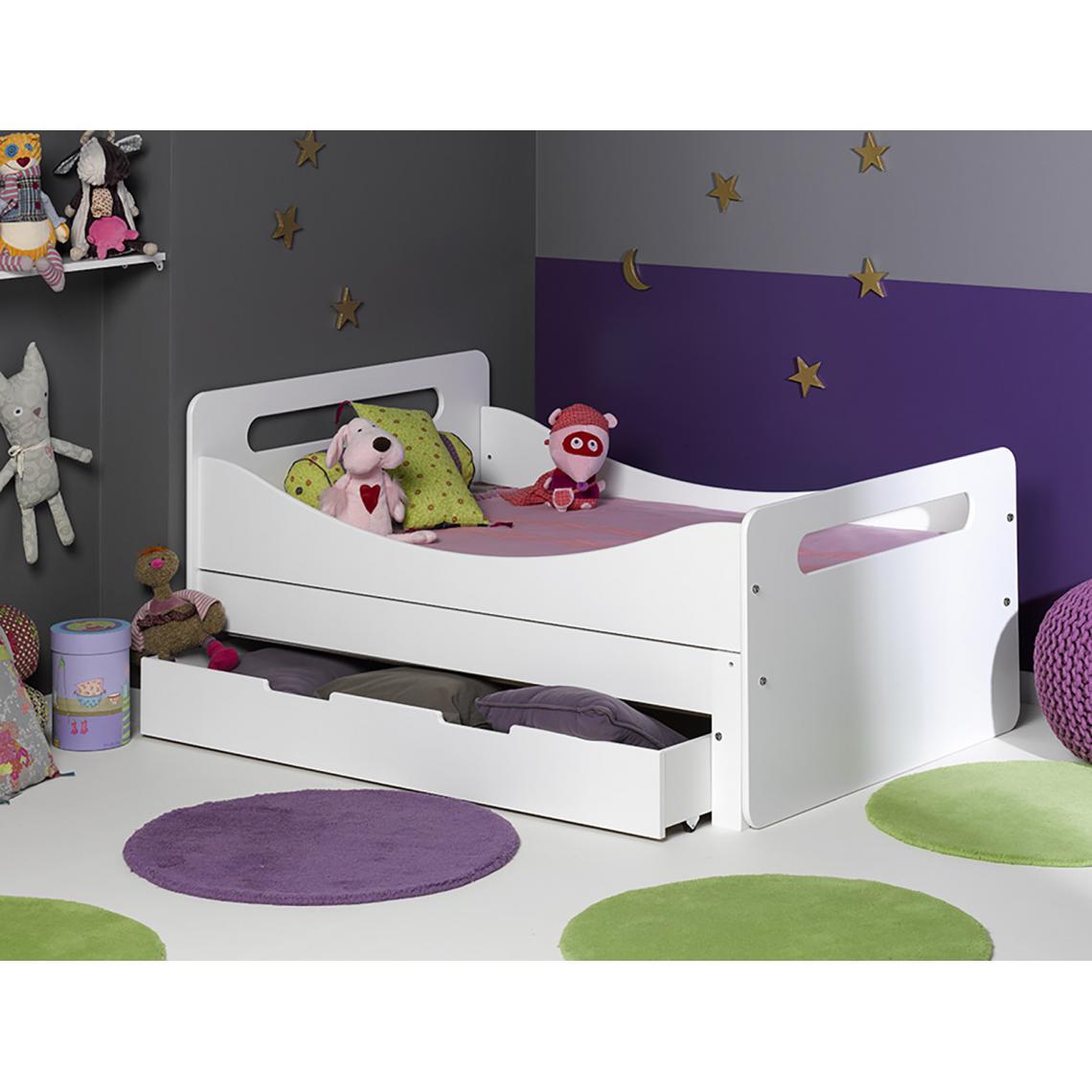 tiroir pour lit evolutif feroe rangement 90 140