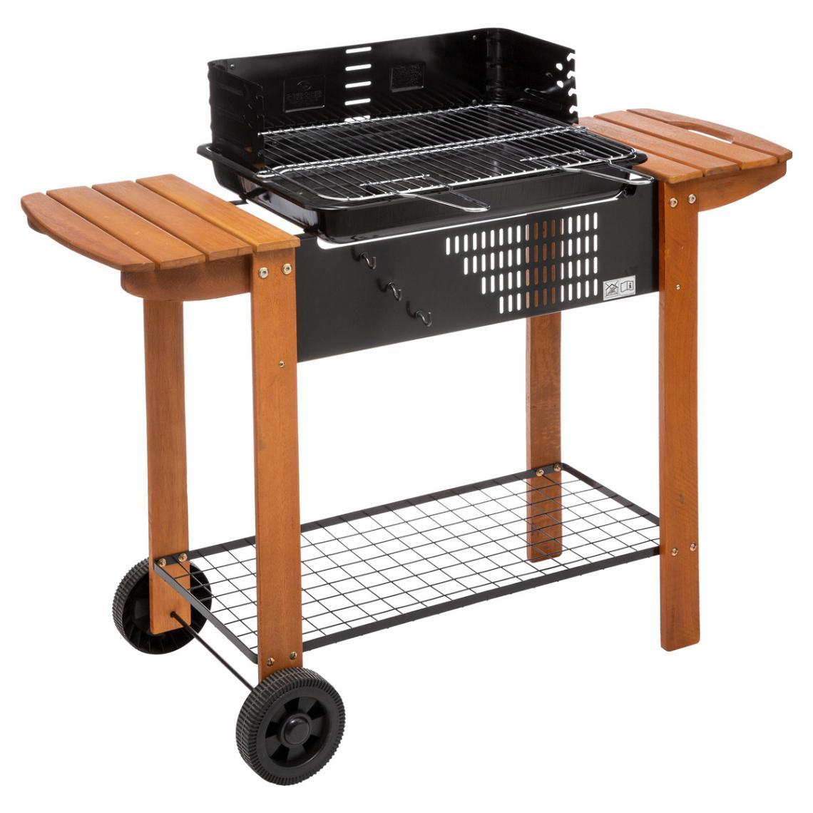 barbecue a charbon neka bois