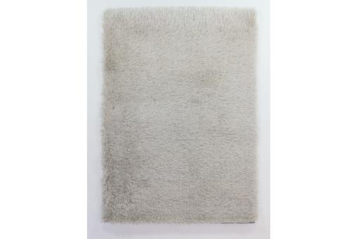 tapis a poils longs beige 230x160cm serena
