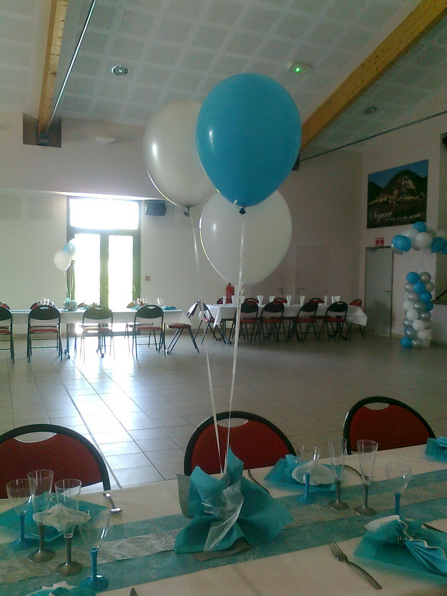 Dcoration Ballons Baptme Devis Sur Demande