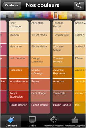 Choisir Harmonie Couleurs Avec Rouge Jaune Orange Application Dulux Valentine