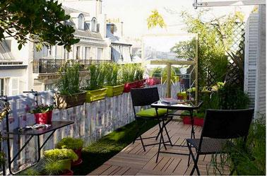 15 Ides Pour Amnager Un Petit Balcon Avec Jardin