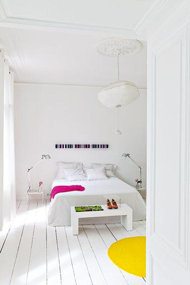 Peindre Un Parquet De Chambre En Blanc Cest Top