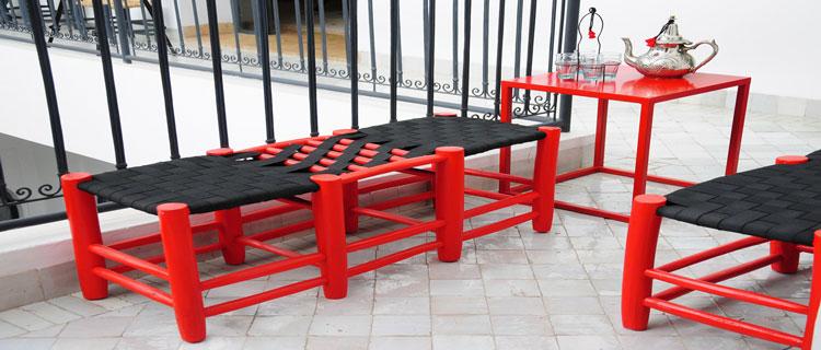 9 Dcoration De Terrasse Et Balcon En Rouge Et Noir