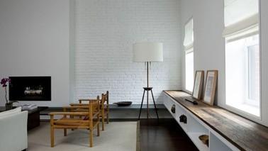 Magnifique Salon Design Ou Le Bois Des Quelques Meubles Et