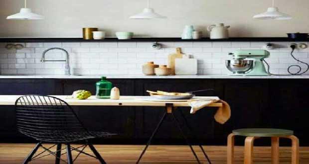 la cuisine scandinave affiche son style