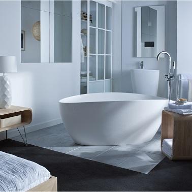 La Baignoire Ilot Fait Le Design De La Salle De Bain