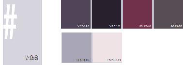 comment associer la couleur parme dans