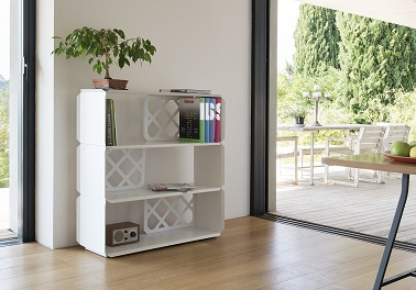 un meuble de rangement etageres design