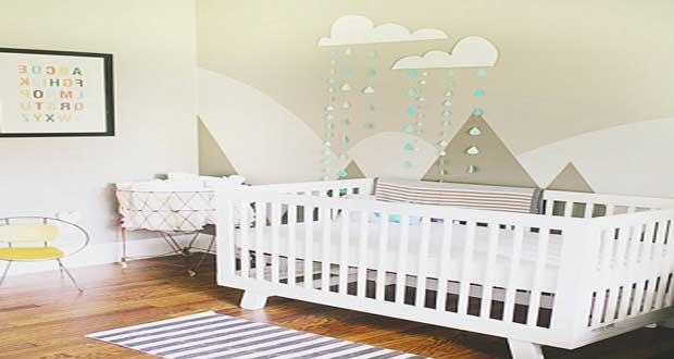 la qualite de la peinture chambre bebe est essentielle pour creer un cocon autour du nouveau