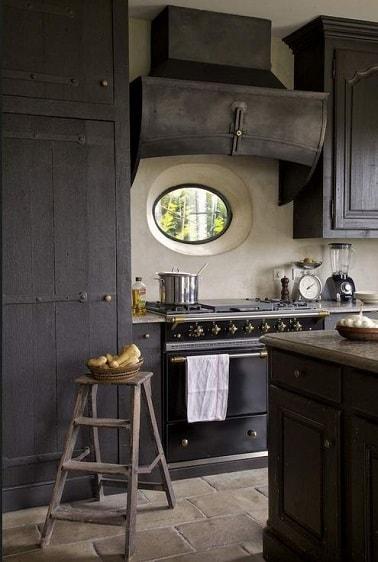 peinture cuisine le gris anthracite