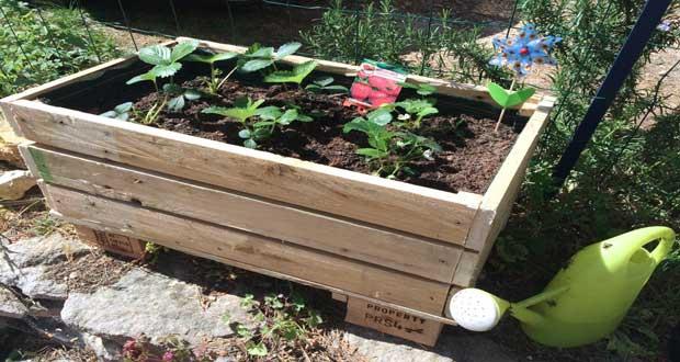 DIY Dco Faire Une Jardinire En Palette Bois