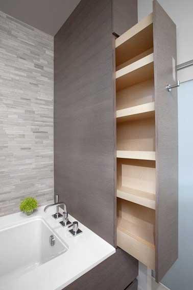 10 rangements salle de bain pour un