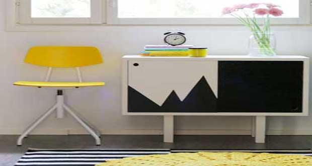 pour relooker un meuble rien de mieux qu une peinture pour meuble de couleur