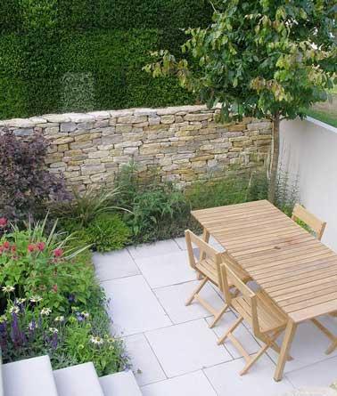 Construire Un Mur En Pierre Comme Clture De Terrasse