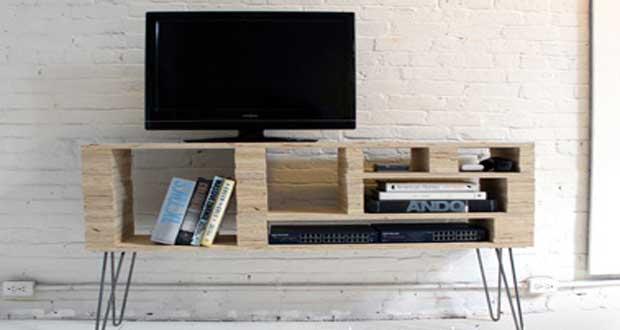 diy deco pour fabriquer un meuble tv