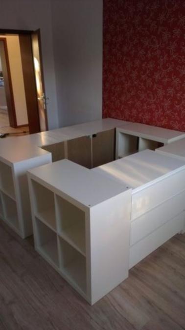 pour concevoir un lit avec rangement le mieux est de partir de l existant