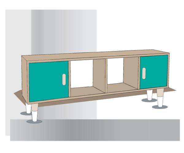 Tuto Pour Fabriquer Un Meuble Style Scandinave DIY