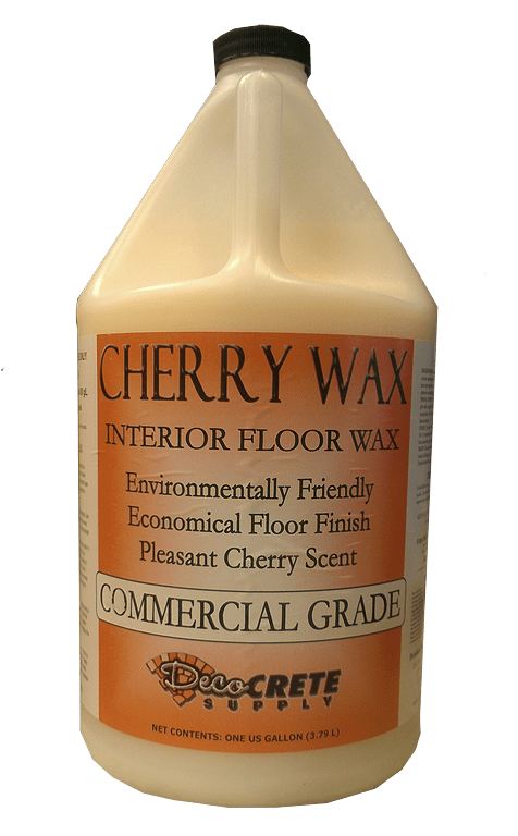 Stained Concrete Wax Products