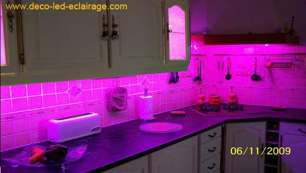 deco led eclairage rubans led cuisine
