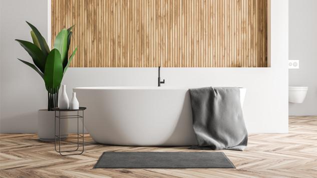 une salle de bains zen comme au spa