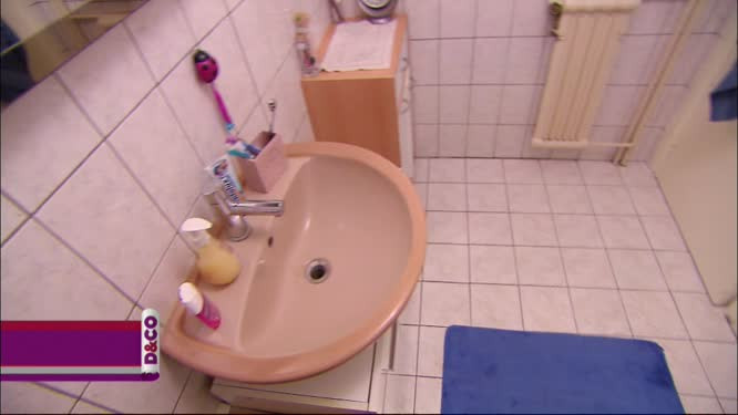 la salle de bain de cedric et audrey