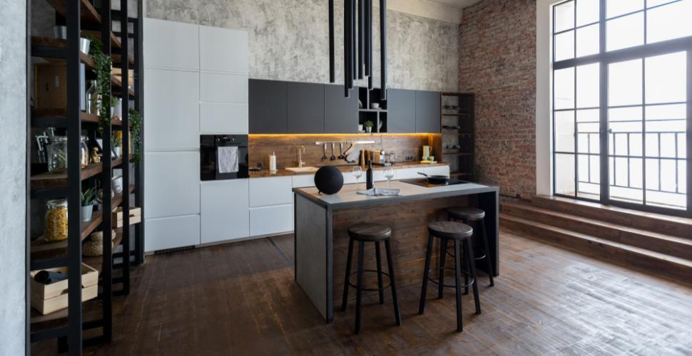 l essentiel d une cuisine de style loft