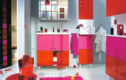 des salles de bains pour ados