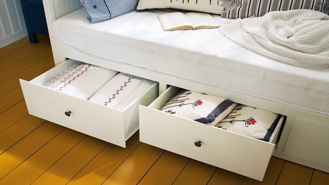 optimiser le rangement sous le lit m6