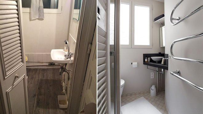 mini salle de bain parisienne
