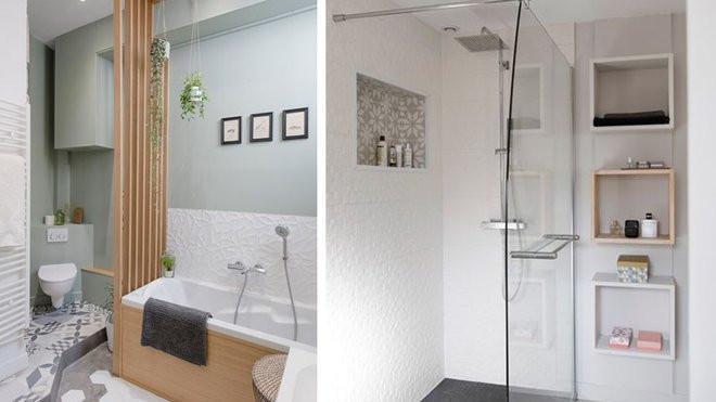petite salle de bains sans