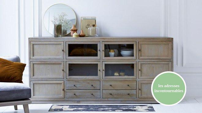 meubles tendance en bois massif
