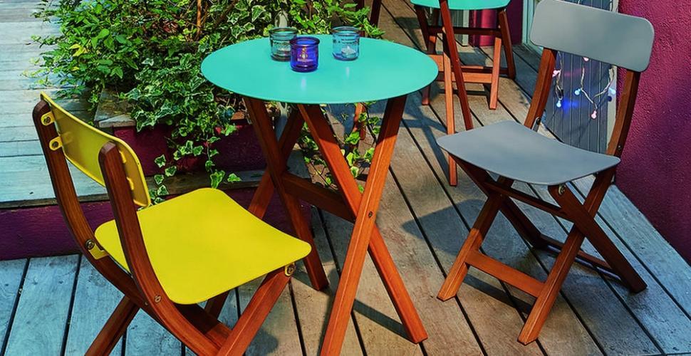 10 tables de balcon qui ne prennent pas
