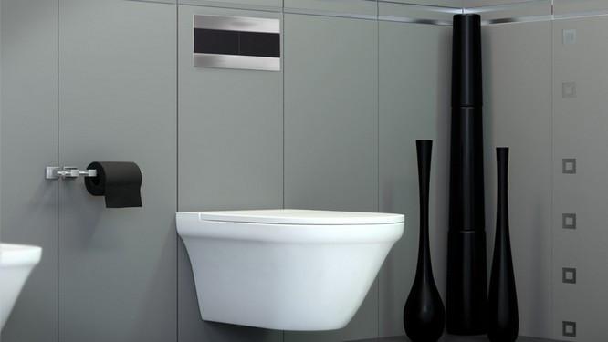 Ambiance Epuree Dans Les Toilettes Diaporama Photo