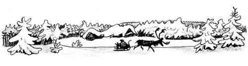 Michka Le traineau du renne F. Rojankovsky