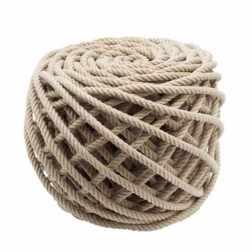 Pouf corde Flax Ottoman Christien Meindertsma