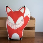 coussin renard Stacie Bloomfield