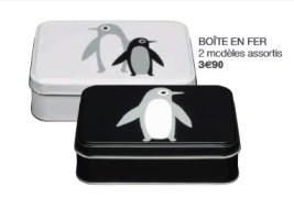 boites-fer collection Pingouin Monoprix decembre 2014