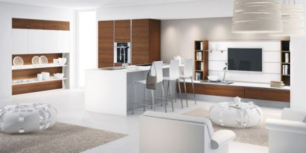 cuisine ouverte ligne Open-space-Mobalpa