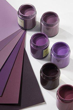 nuances de violet Maison-com