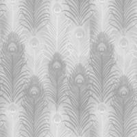 Papierpeint_peacock_MatthewWilliamson_Eden_silver_decoatouslesetages